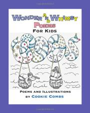 Cover art for WONDER AND WHIMSY POEMS FOR KIDS