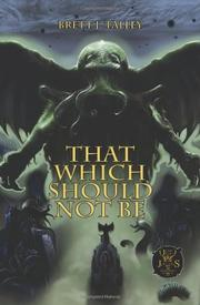 Cover art for THAT WHICH SHOULD NOT BE