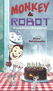 MONKEY & ROBOT by Peter Catalanotto