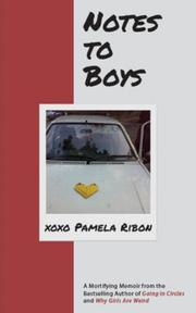 NOTES TO BOYS by Pamela Ribon