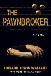 THE PAWNBROKER by Edward Lewis Wallant