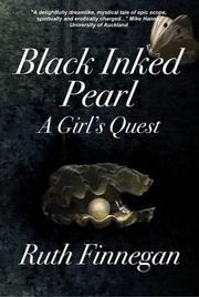 Black Inked Pearl by Ruth Finnegan