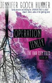 Operation Tenley by Jennifer Gooch Hummer