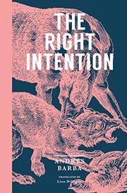 THE RIGHT INTENTION by Andrés Barba