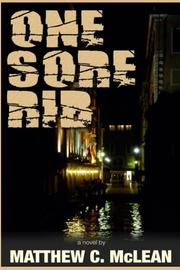 ONE SORE RIB by Matthew Cooper  McLean