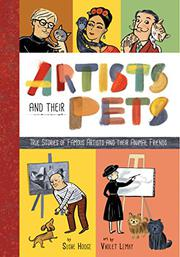 ARTISTS AND THEIR PETS by Susie Hodge