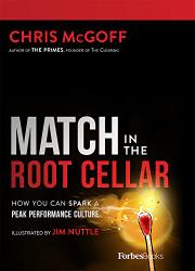 MATCH IN THE ROOT CELLAR by Chris  McGoff