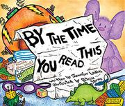 BY THE TIME YOU READ THIS... by Jennifer Lanthier