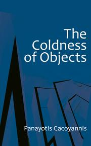 THE COLDNESS OF OBJECTS Cover