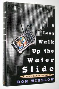 A LONG WALK UP THE WATER SLIDE