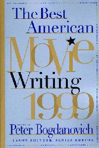 THE BEST AMERICAN MOVIE WRITING 1999