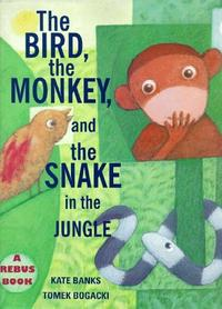 THE BIRD, THE MONKEY, AND THE SNAKE IN THE JUNGLE