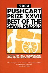 THE PUSHCART PRIZE, XXVII