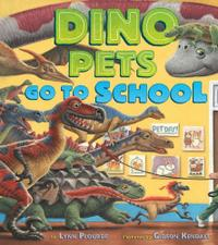 DINO PETS GO TO SCHOOL