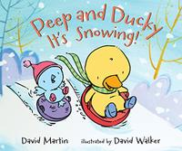 PEEP AND DUCKY IT'S SNOWING!