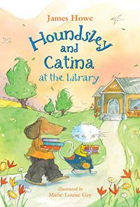 HOUNDSLEY AND CATINA AT THE LIBRARY