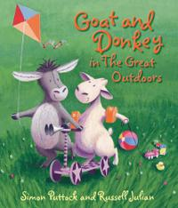 GOAT AND DONKEY IN THE GREAT OUTDOORS