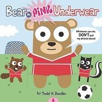 BEAR IN PINK UNDERWEAR