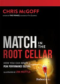 MATCH IN THE ROOT CELLAR