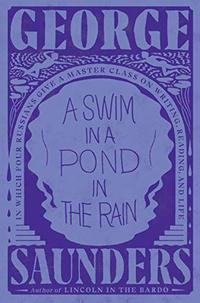 A SWIM IN A POND IN THE RAIN