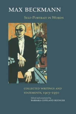 """""""SELF-PORTRAIT IN WORDS: Collected Writings and Statements, 1903-1950"""""""