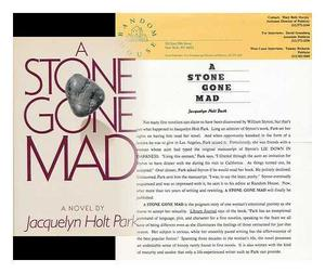 A STONE GONE MAD