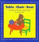 TABLE, CHAIR, BEAR