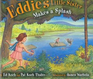 EDDIE'S LITTLE SISTER MAKES A SPLASH