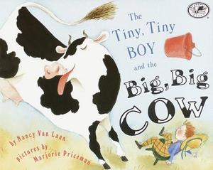 THE TINY, TINY BOY AND THE BIG, BIG COW