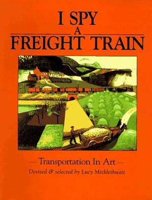I SPY A FREIGHT TRAIN
