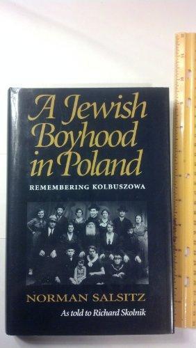 A JEWISH BOYHOOD IN POLAND