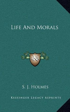 LIFE AND MORALS