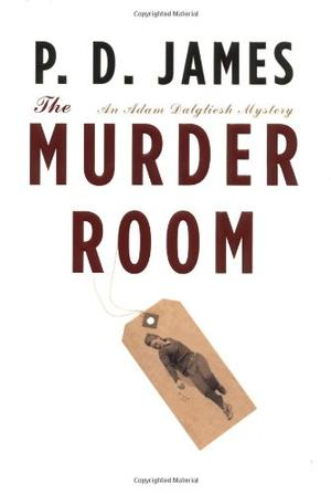 The Murder Room By P D James Kirkus Reviews border=