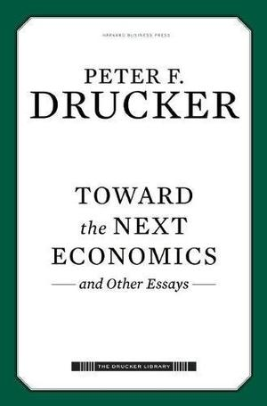 TOWARD THE NEXT ECONOMICS