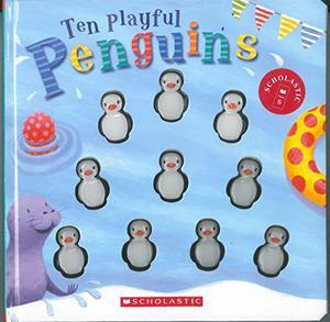 TEN PLAYFUL PENGUINS