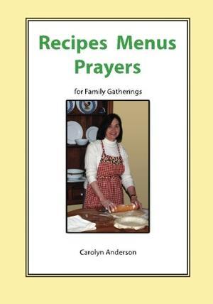 RECIPES MENUS PRAYERS