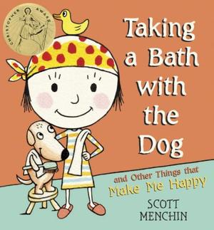 TAKING A BATH WITH THE DOG