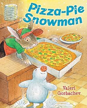 PIZZA-PIE SNOWMAN