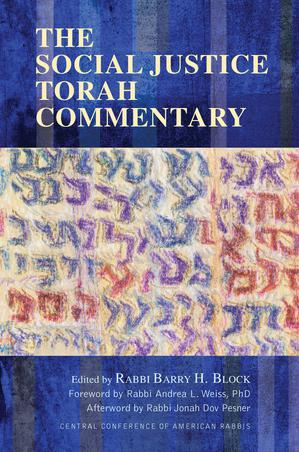 THE SOCIAL JUSTICE TORAH COMMENTARY