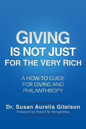 GIVING IS NOT JUST FOR THE VERY RICH