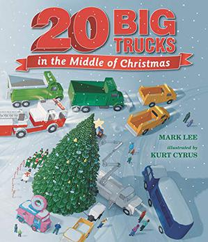 20 BIG TRUCKS IN THE MIDDLE OF CHRISTMAS