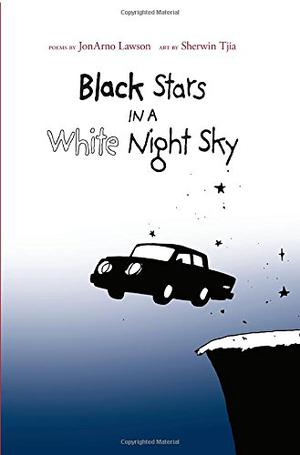 BLACK STARS IN A WHITE NIGHT SKY