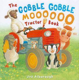 THE GOBBLE GOBBLE MOOOOOOO TRACTOR BOOK