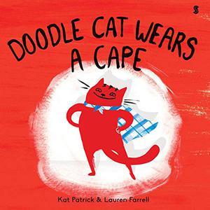DOODLE CAT WEARS A CAPE