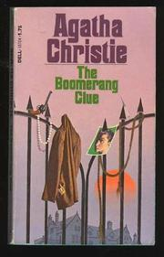 THE BOOMERANG CLUE by Agatha Christie