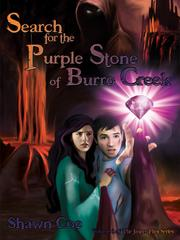 Book Cover for SEARCH FOR THE PURPLE STONE OF BURRO CREEK