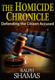 Cover art for THE HOMICIDE CHRONICLE