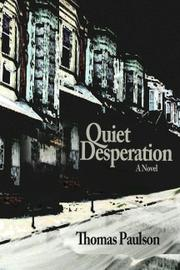 Book Cover for Quiet Desperation