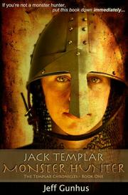 Book Cover for JACK TEMPLAR MONSTER HUNTER