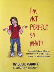 Book Cover for I'M NOT PERFECT. SO WHAT?